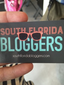 My 1st blogging experience thanx to #SFLBloggers. Loved it!